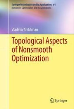Shikhman, Vladimir - Topological Aspects of Nonsmooth Optimization, ebook