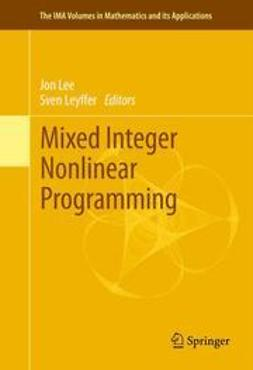 Lee, Jon - Mixed Integer Nonlinear Programming, e-kirja
