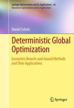 Scholz, Daniel - Deterministic Global Optimization, ebook
