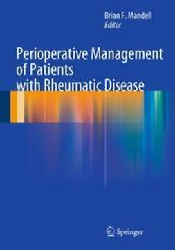 Mandell, Brian F. - Perioperative Management of Patients with Rheumatic Disease, e-kirja