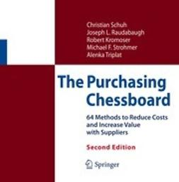 Schuh, Christian - The Purchasing Chessboard, ebook