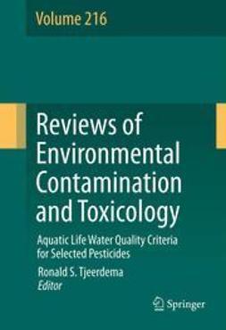 Tjeerdema, Ronald S. - Aquatic Life Water Quality Criteria for Selected Pesticides, e-bok