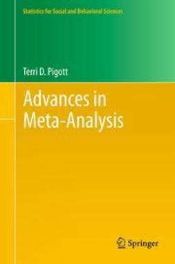 Pigott, Terri D. - Advances in Meta-Analysis, ebook
