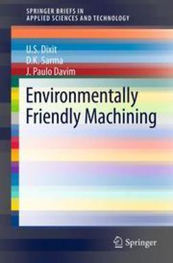 Dixit, U.S. - Environmentally Friendly Machining, ebook