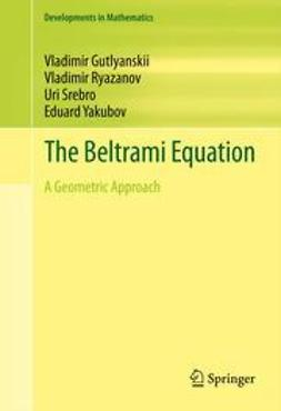 Gutlyanskii, Vladimir - The Beltrami Equation, ebook