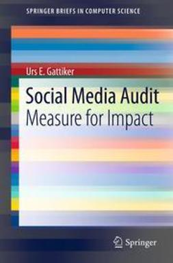 Gattiker, Urs E. - Social Media Audit, ebook