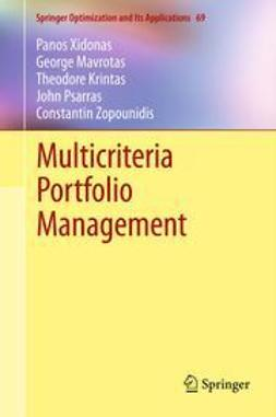 Xidonas, Panos - Multicriteria Portfolio Management, ebook
