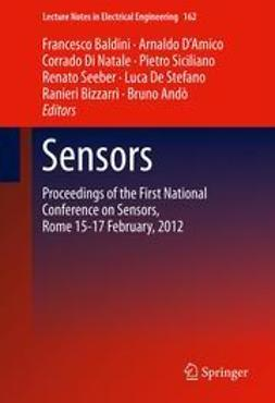 Baldini, Francesco - Sensors, ebook