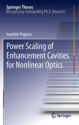 Pupeza, Ioachim - Power Scaling of Enhancement Cavities for Nonlinear Optics, ebook