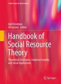 Törnblom, Kjell - Handbook of Social Resource Theory, ebook