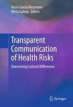 Garcia-Retamero, Rocio - Transparent Communication of Health Risks, e-bok