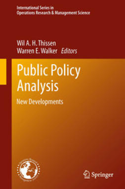 Thissen, Wil A. H. - Public Policy Analysis, ebook
