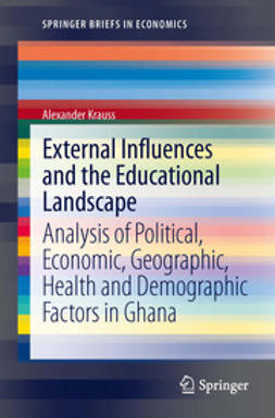 Krauss, Alexander - External Influences and the Educational Landscape, ebook