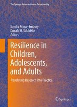 Prince-Embury, Sandra - Resilience in Children, Adolescents, and Adults, ebook