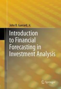 Jr., John B. Guerard, - Introduction to Financial Forecasting in Investment Analysis, ebook