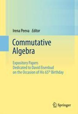 Peeva, Irena - Commutative Algebra, ebook