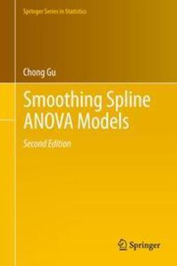 Gu, Chong - Smoothing Spline ANOVA Models, ebook