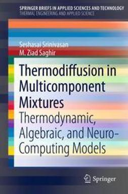 Srinivasan, Seshasai - Thermodiffusion in Multicomponent Mixtures, ebook