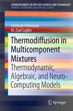 Srinivasan, Seshasai - Thermodiffusion in Multicomponent Mixtures, ebook