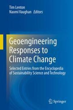 Lenton, Tim - Geoengineering Responses to Climate Change, e-bok