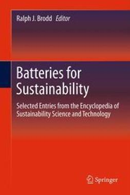 Brodd, Ralph J. - Batteries for Sustainability, ebook