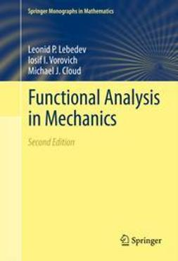 Lebedev, Leonid P. - Functional Analysis in Mechanics, ebook