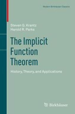 Krantz, Steven G. - The Implicit Function Theorem, ebook