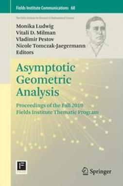 Ludwig, Monika - Asymptotic Geometric Analysis, ebook