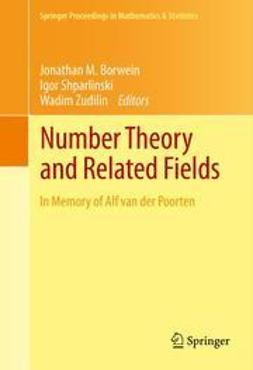 Borwein, Jonathan M. - Number Theory and Related Fields, e-bok