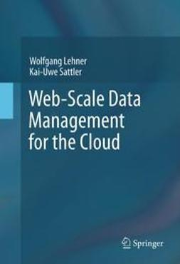 Lehner, Wolfgang - Web-Scale Data Management for the Cloud, e-bok
