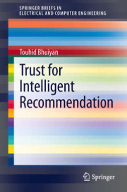 Bhuiyan, Touhid - Trust for Intelligent Recommendation, ebook