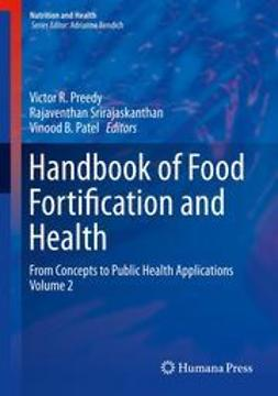Preedy, Victor R. - Handbook of Food Fortification and Health, e-bok
