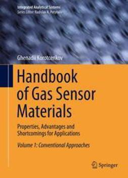 Korotcenkov, Ghenadii - Handbook of Gas Sensor Materials, ebook