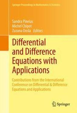 Pinelas, Sandra - Differential and Difference Equations with Applications, e-bok