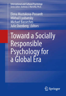 Mustakova-Possardt, Elena - Toward a Socially Responsible Psychology for a Global Era, ebook