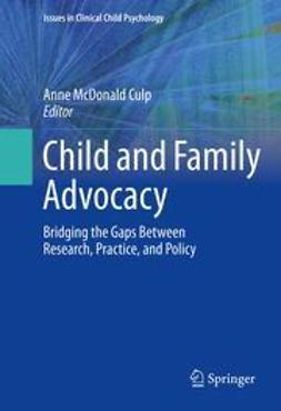 Culp, Anne McDonald - Child and Family Advocacy, e-kirja
