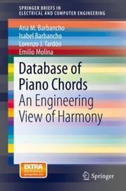 Barbancho, Ana M. - Database of Piano Chords, ebook