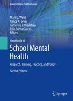Weist, Mark D. - Handbook of School Mental Health, e-bok