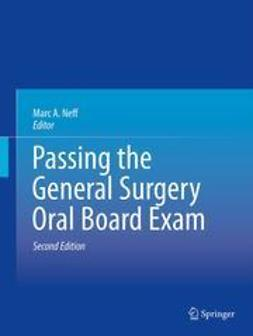 Neff, Marc A. - Passing the General Surgery Oral Board Exam, ebook