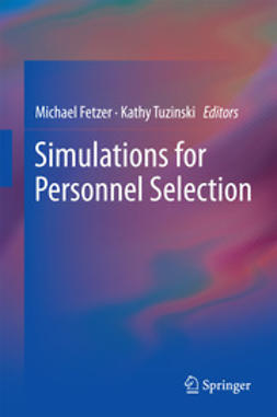 Fetzer, Michael - Simulations for Personnel Selection, ebook