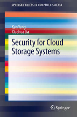 Yang, Kan - Security for Cloud Storage Systems, e-kirja