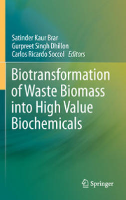 Brar, Satinder Kaur - Biotransformation of Waste Biomass into High Value Biochemicals, ebook