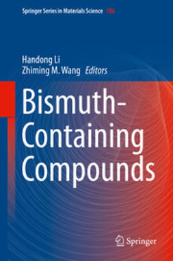 Li, Handong - Bismuth-Containing Compounds, ebook
