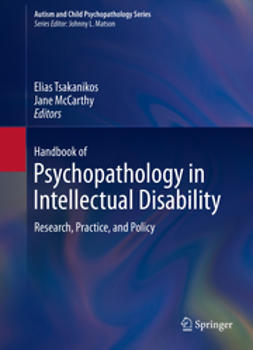Tsakanikos, Elias - Handbook of Psychopathology in Intellectual Disability, ebook