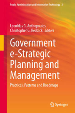 Anthopoulos, Leonidas G. - Government e-Strategic Planning and Management, ebook