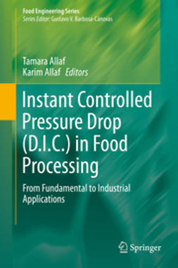 Allaf, Tamara - Instant Controlled Pressure Drop (D.I.C.) in Food Processing, ebook