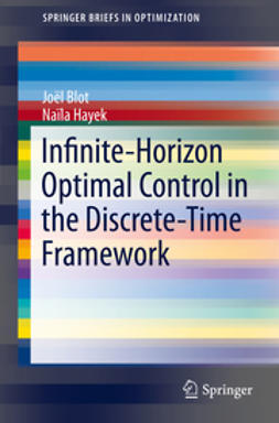 Blot, Joël - Infinite-Horizon Optimal Control in the Discrete-Time Framework, ebook
