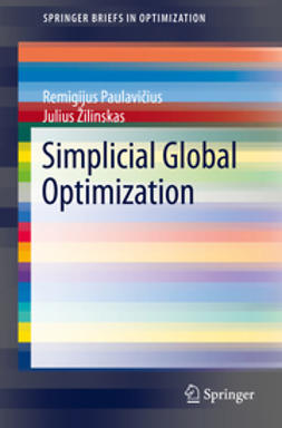 Paulavičius, Remigijus - Simplicial Global Optimization, ebook