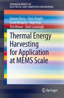 Percy, Steven - Thermal Energy Harvesting for Application at MEMS Scale, ebook