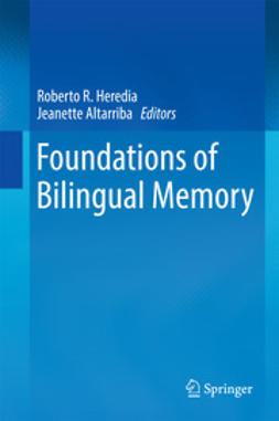 Altarriba, Jeanette - Foundations of Bilingual Memory, ebook